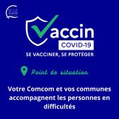 Visuel sur le vaccin covid