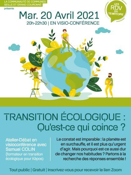 Affiche de l'évènement Soirée Transition écologique