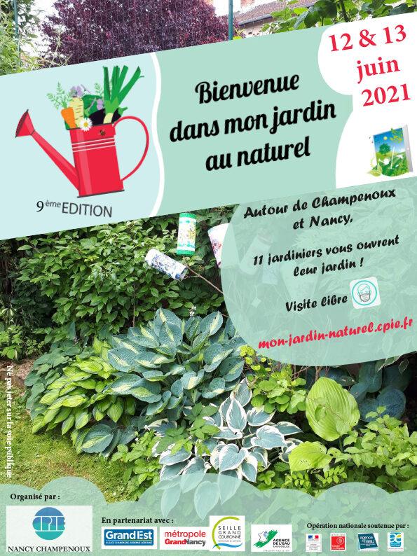 Affiche de l'évènement Bienvenue dans mon jardin au naturel - Le jardin des 6 familles