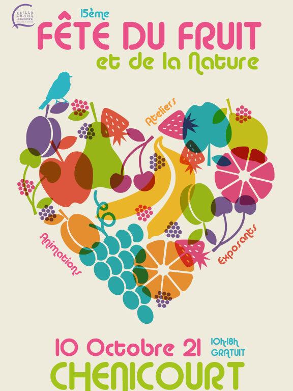 Affiche de l'évènement 15ème Fête du Fruit et de la Nature