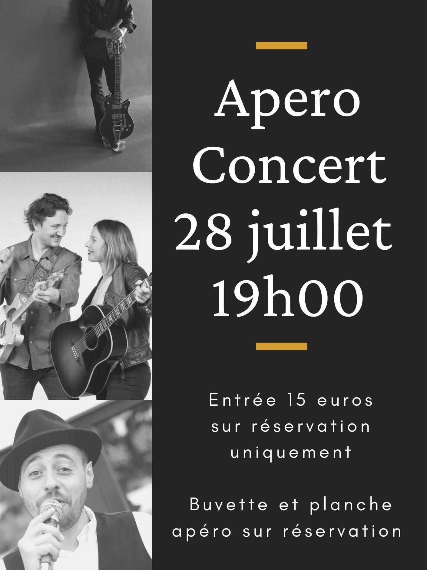 Affiche de l'évènement Apéro Concert