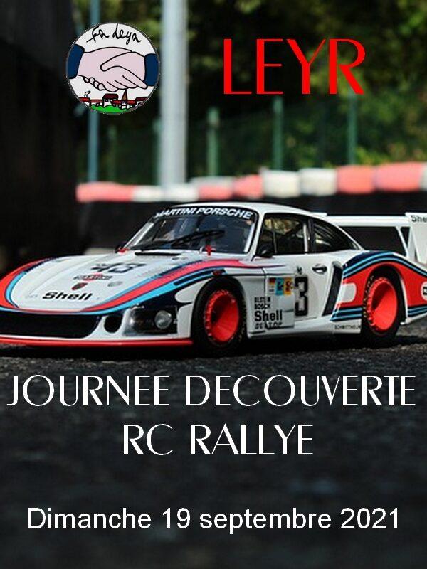 Affiche de l'évènement JOURNÉE DÉCOUVERTE RC RALLYE * voitures télécommandées