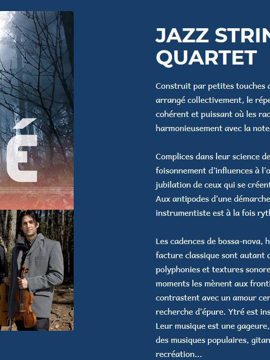 Affiche de l'évènement Concert de jazz