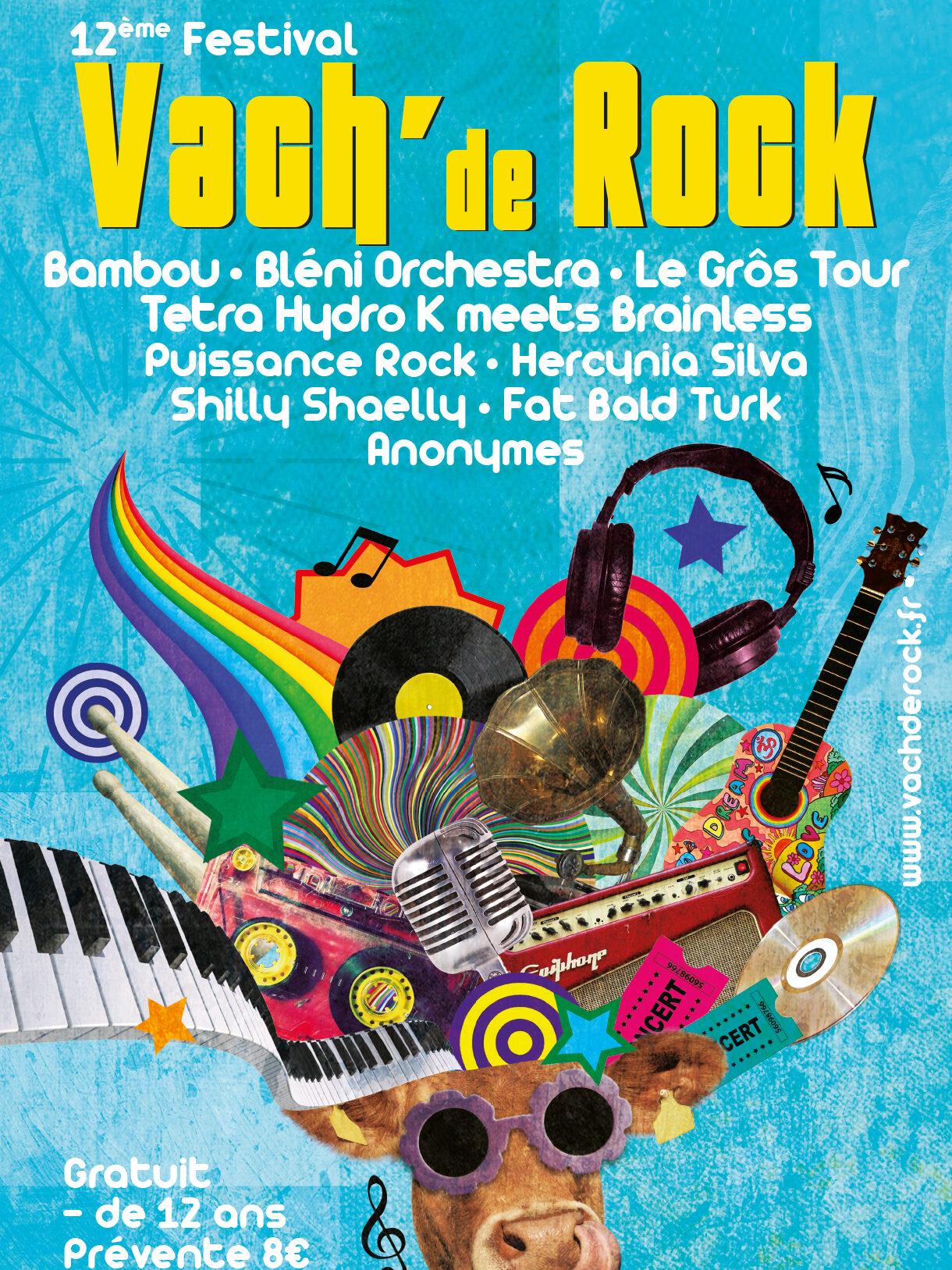 Affiche de l'évènement Festival Vach' de Rock