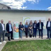 Photo de la visite France Services Seille Grand Couronné par la députée Carole Grandjean le 8 octobre 2021